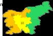 vremenska opozorila po regijah